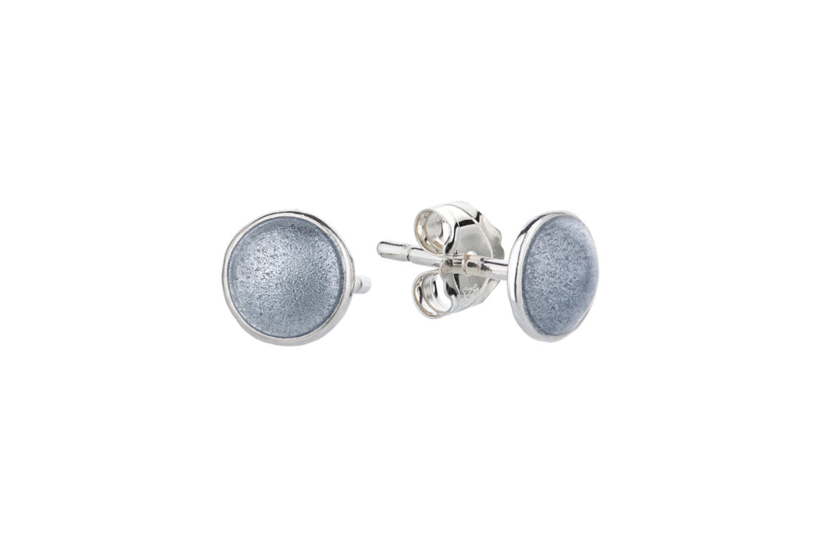 Seashell earstick gray. KL007. 600,-